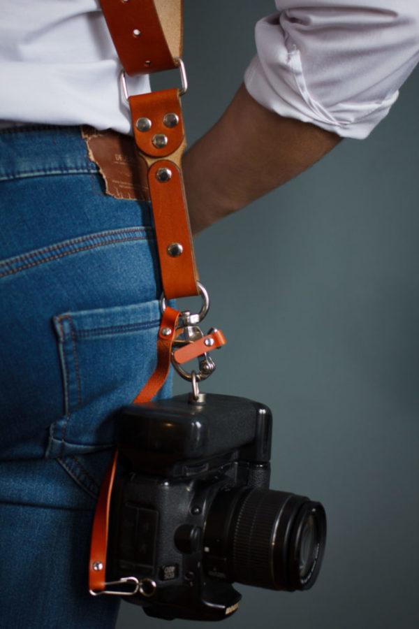 multi camera strap