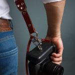 two camera strap