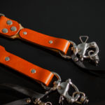 Leather slider