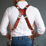 leather dual camera straps